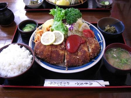 090727やきかつ太郎【ジャンボやきかつ定食】1.JPG