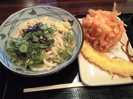 081113丸亀製麺【ぶっかけうどん大&天婦羅】.jpg